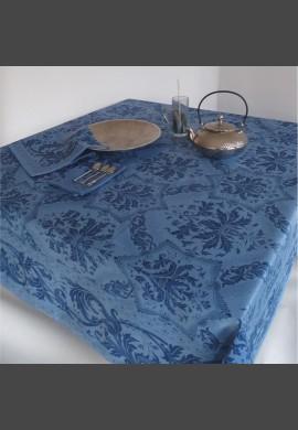 Obrus TOPKAPI - granat  / niebieski  (kolor 02 blue)
