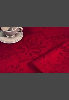 Obrus TOPKAPI  - kolor czerwony (03 rouge)