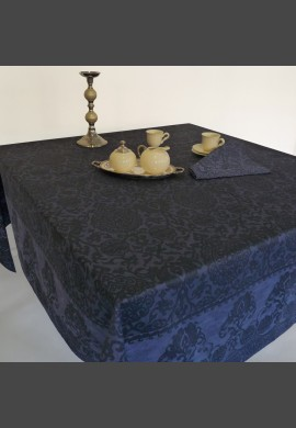 Obrus  GRAND SOIR - kolor granatowy  (22 bleu nuit)
