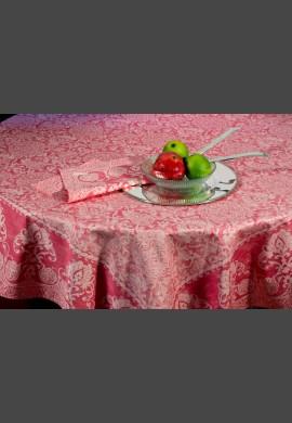 Obrus  GRAND SOIR - kolor czerwony  (26 pivoine)
