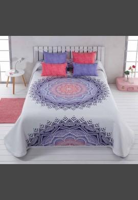Narzuta MANDALA - kolor 7 violeta